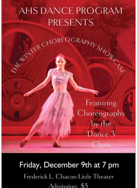 See the winter dance concert Dec. 9!