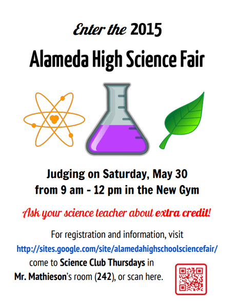 AHS Science Fair coming soon!